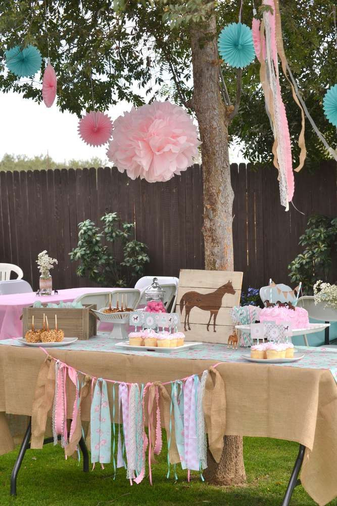 Best ideas about Horse Decorations For Birthday Party . Save or Pin Best 25 Horse party ideas on Pinterest Now.