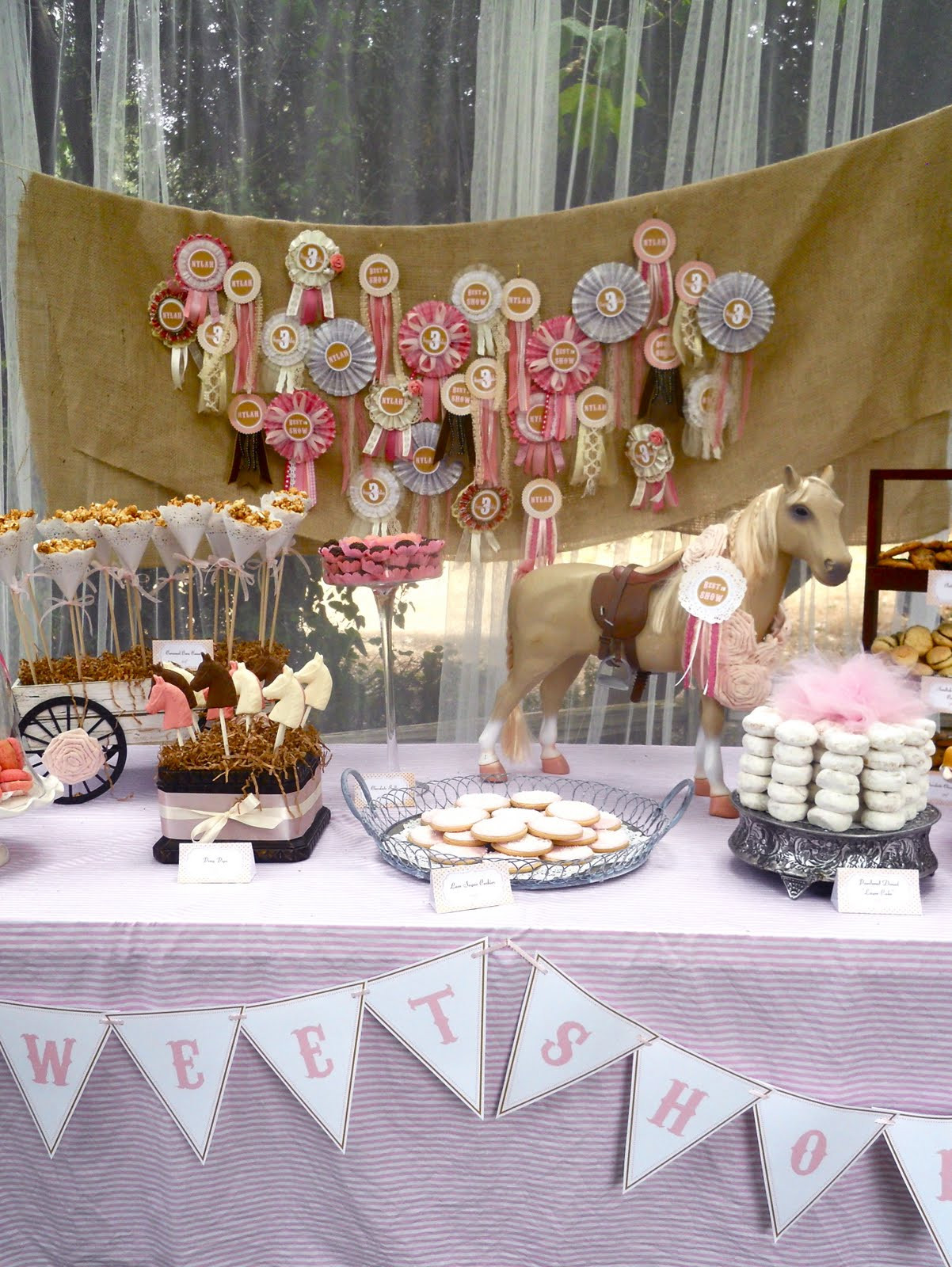 Best ideas about Horse Decorations For Birthday Party . Save or Pin Oh Sugar Events Vintage Pony Party Now.