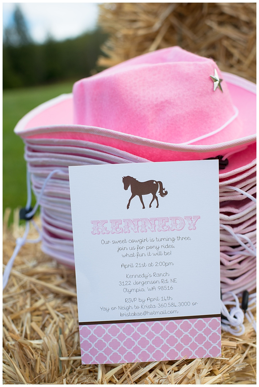 Best ideas about Horse Decorations For Birthday Party . Save or Pin A Pink and Brown Pony Party Hoopla Events Now.