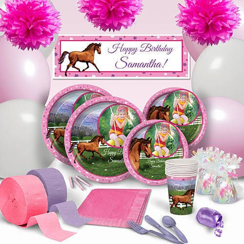 Best ideas about Horse Decorations For Birthday Party . Save or Pin 1000 ideas about Horse Party Supplies on Pinterest Now.