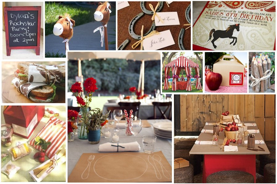 Best ideas about Horse Decorations For Birthday Party . Save or Pin Inspiration Board Horse Theme Birthday Celebrations at Now.
