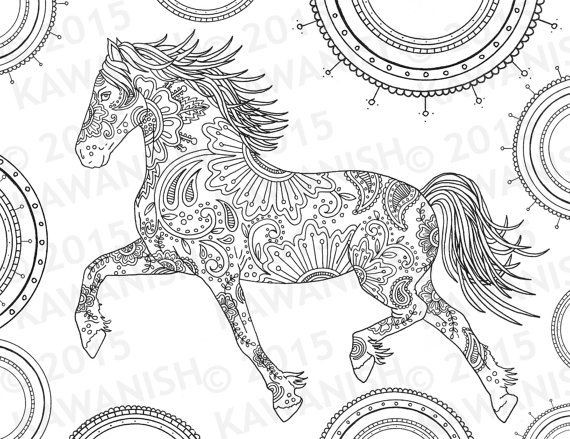 Best ideas about Horses Coloring Pages For Adults . Save or Pin Best 25 Horse coloring pages ideas only on Pinterest Now.