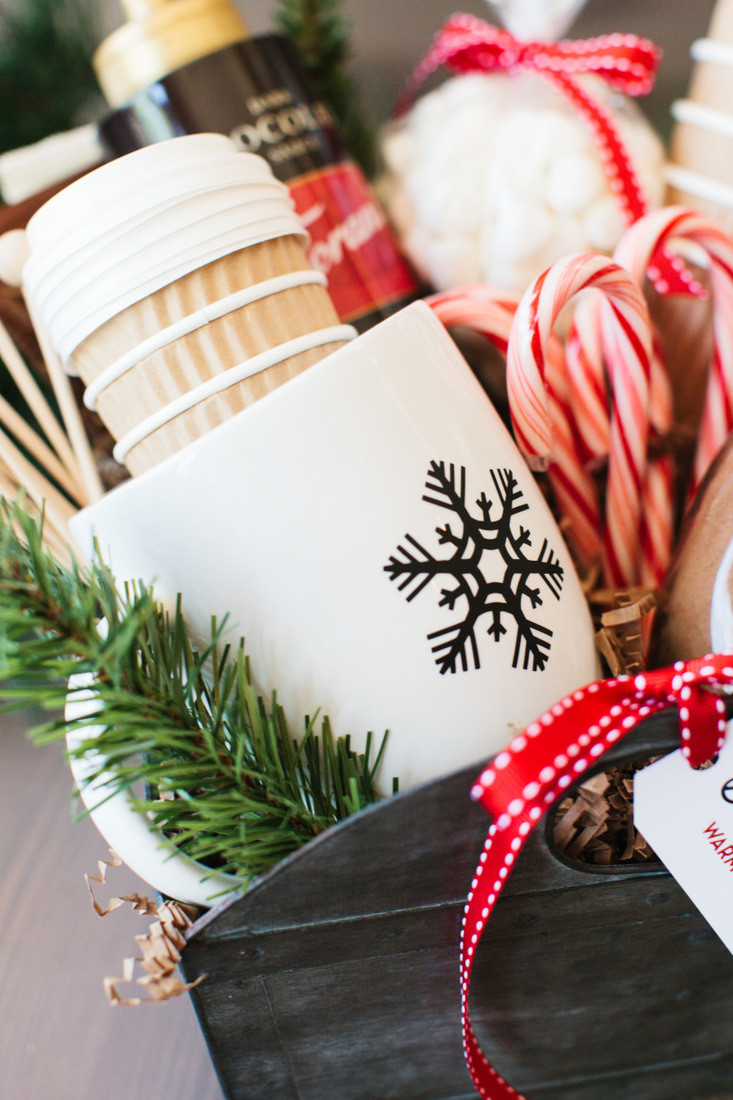 Best ideas about Hot Chocolate Gift Basket Ideas . Save or Pin The Perfect Hot Cocoa Gift Basket… Now.