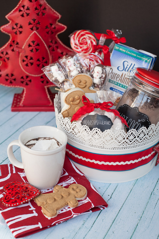 Best ideas about Hot Chocolate Gift Basket Ideas . Save or Pin Delicious Gift Giving Non Dairy Hot Chocolate Gift Basket Now.