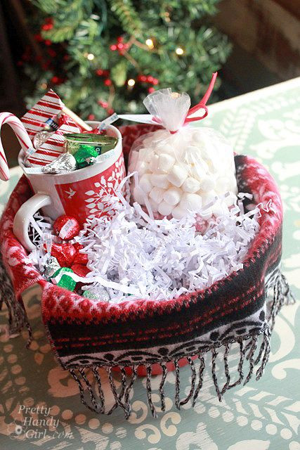 Best ideas about Hot Chocolate Gift Basket Ideas . Save or Pin items for hot chocolate lovers t basket Now.