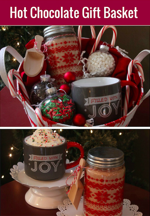 Best ideas about Hot Chocolate Gift Basket Ideas . Save or Pin Hot Cocoa Gift Basket with Homemade Hot Cocoa Mix Now.