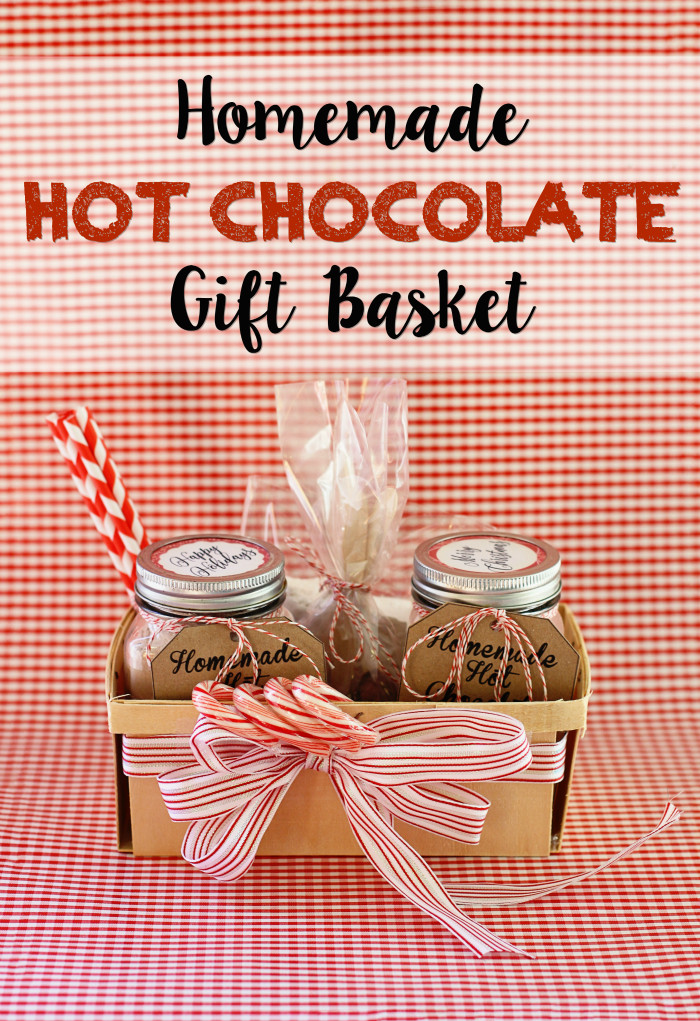 Best ideas about Hot Chocolate Gift Basket Ideas . Save or Pin Running from the Law DIY Homemade Hot Chocolate Gift Basket Now.