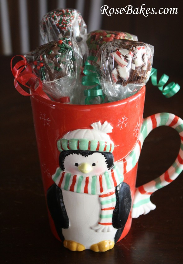 Best ideas about Hot Cocoa Gift Ideas . Save or Pin Peppermint Marshmallow Dips for Hot Chocolate Great Gift Now.