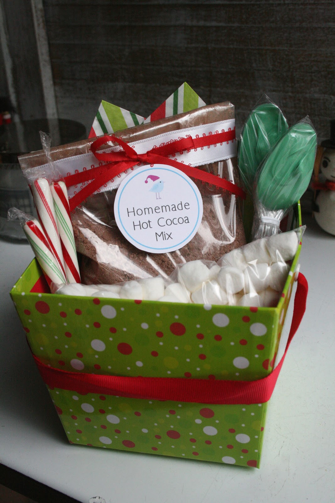 Best ideas about Hot Cocoa Gift Ideas . Save or Pin The Nesting Corral Homemade Christmas Gifts Hot Cocoa Now.
