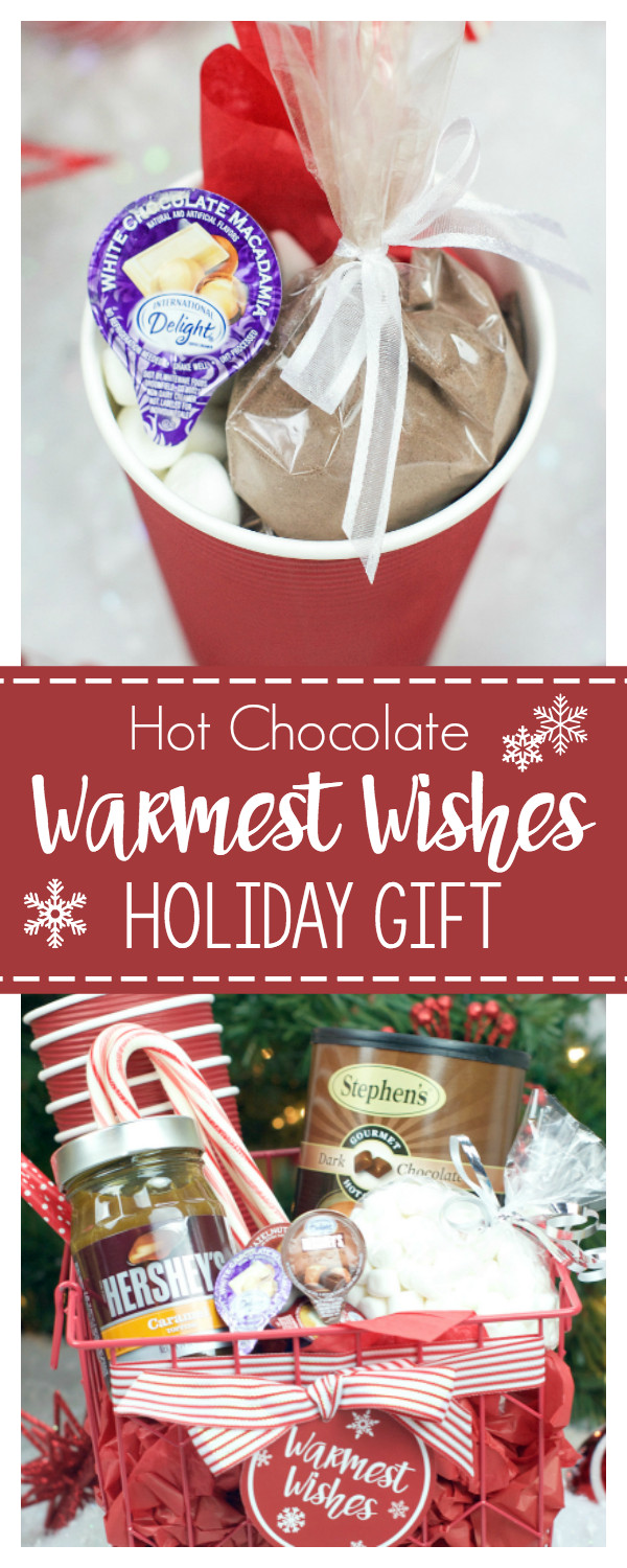 Best ideas about Hot Cocoa Gift Ideas . Save or Pin Hot Chocolate Gift Basket for Christmas – Fun Squared Now.
