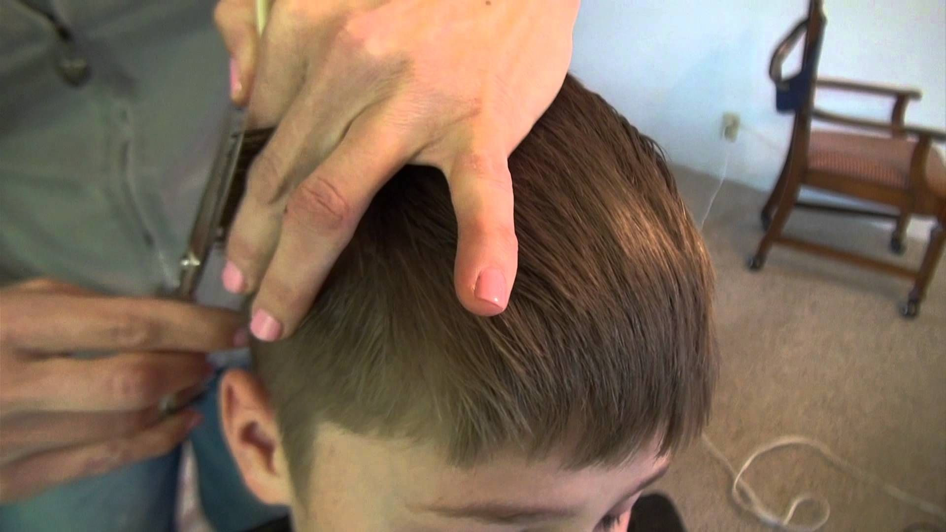 Best ideas about How To Cut Boys Hair With Scissors . Save or Pin Best How To Cut Boys Hair Cutting Kids With Clippers And Now.