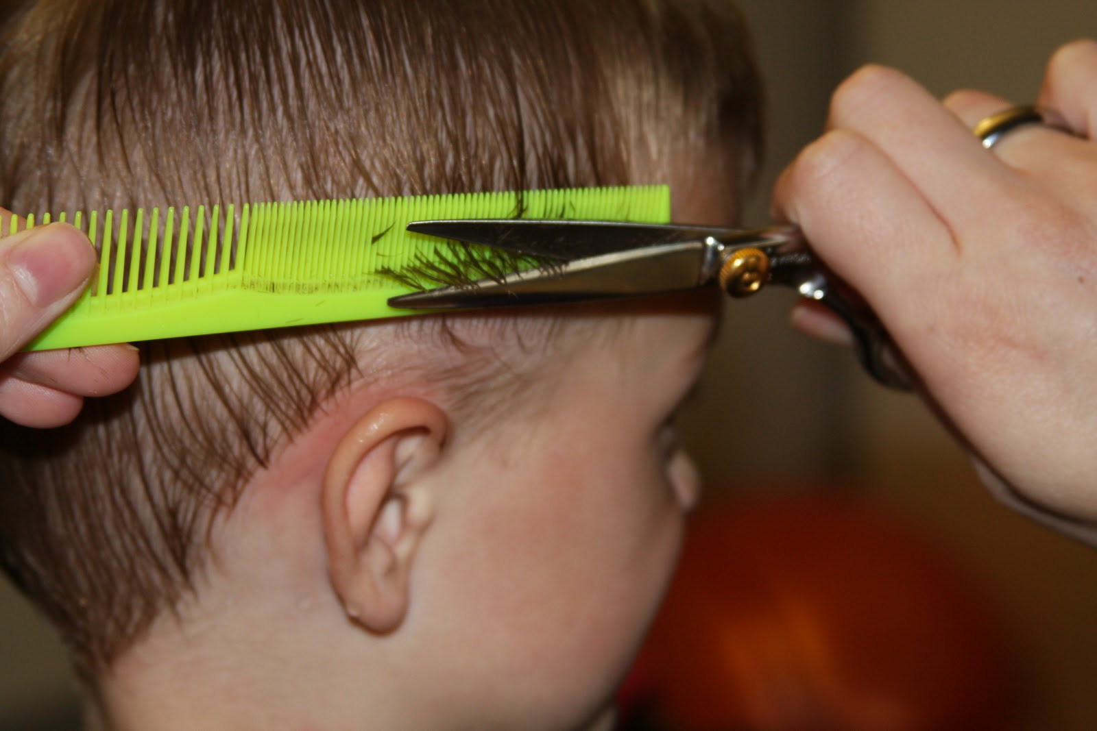 Best ideas about How To Cut Boys Hair With Scissors . Save or Pin How to cut boys hair Shwin&Shwin Now.