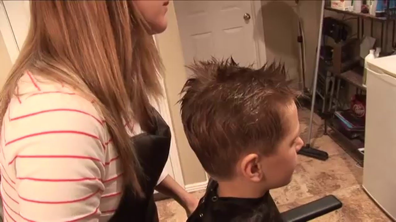 Best ideas about How To Cut Boys Hair With Scissors . Save or Pin HOW TO CUT BOY S HAIR basic boys haircut hair Now.