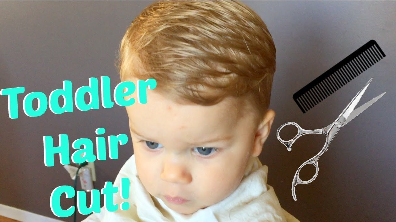 Best ideas about How To Cut Boys Hair With Scissors . Save or Pin How To Cut Toddler Boy Hair Now.