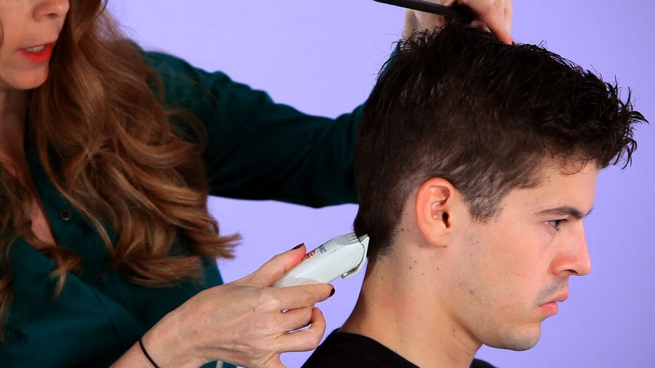 Best ideas about How To Cut Boys Hair With Scissors . Save or Pin How to Cut a Man s Hair with Clippers Now.