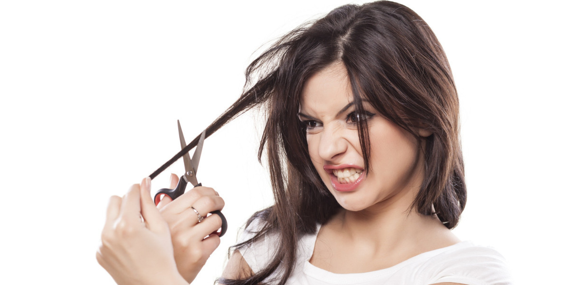 Best ideas about How To Cut Girls Hair . Save or Pin 19 People Who Shouldn t Be Allowed To Cut Their Own Hair Now.