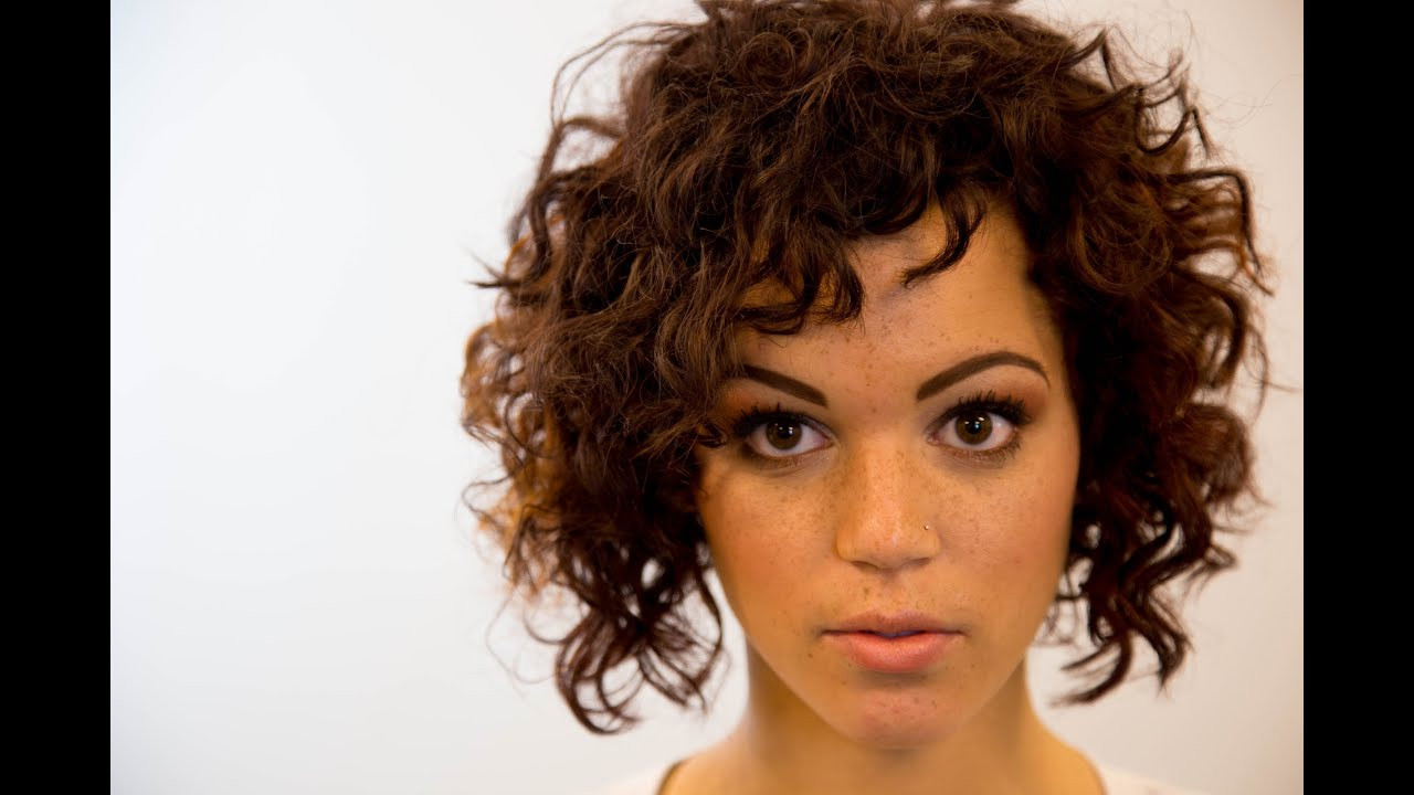 Best ideas about How To Cut Naturally Curly Hair . Save or Pin A Line Bob Haircut Curly Hair The Road Education Now.