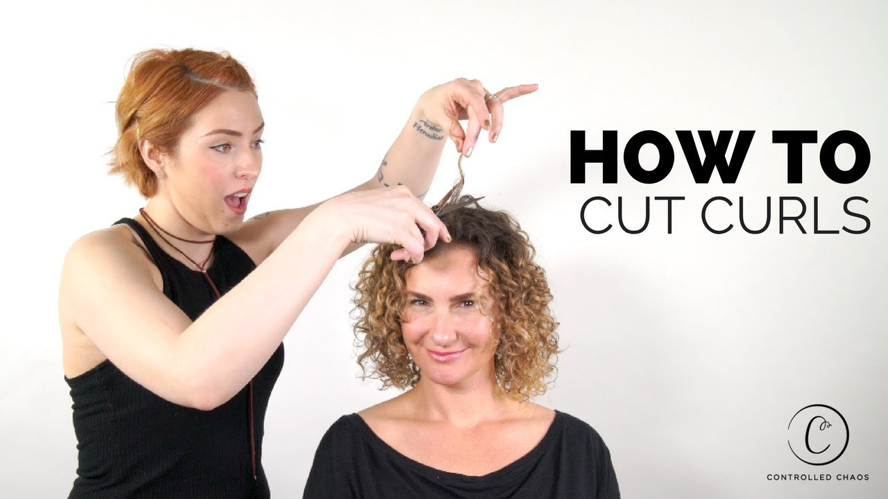 Best ideas about How To Cut Naturally Curly Hair . Save or Pin The BEST Way to Cut Curly Hair Now.