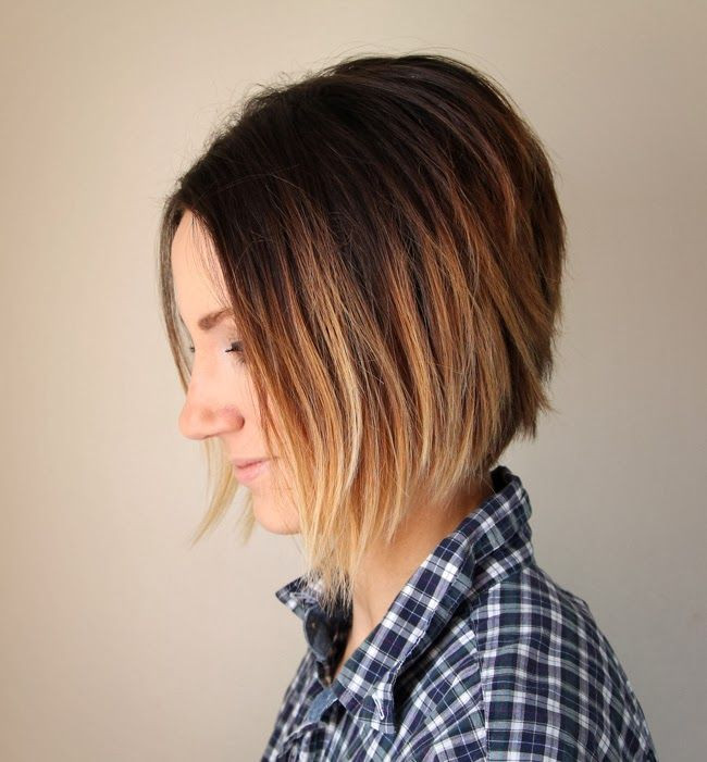 Best ideas about How To Cut Your Own Hair Into A Bob . Save or Pin 17 Best images about Hair BOBS Angled A line Inverted on Now.