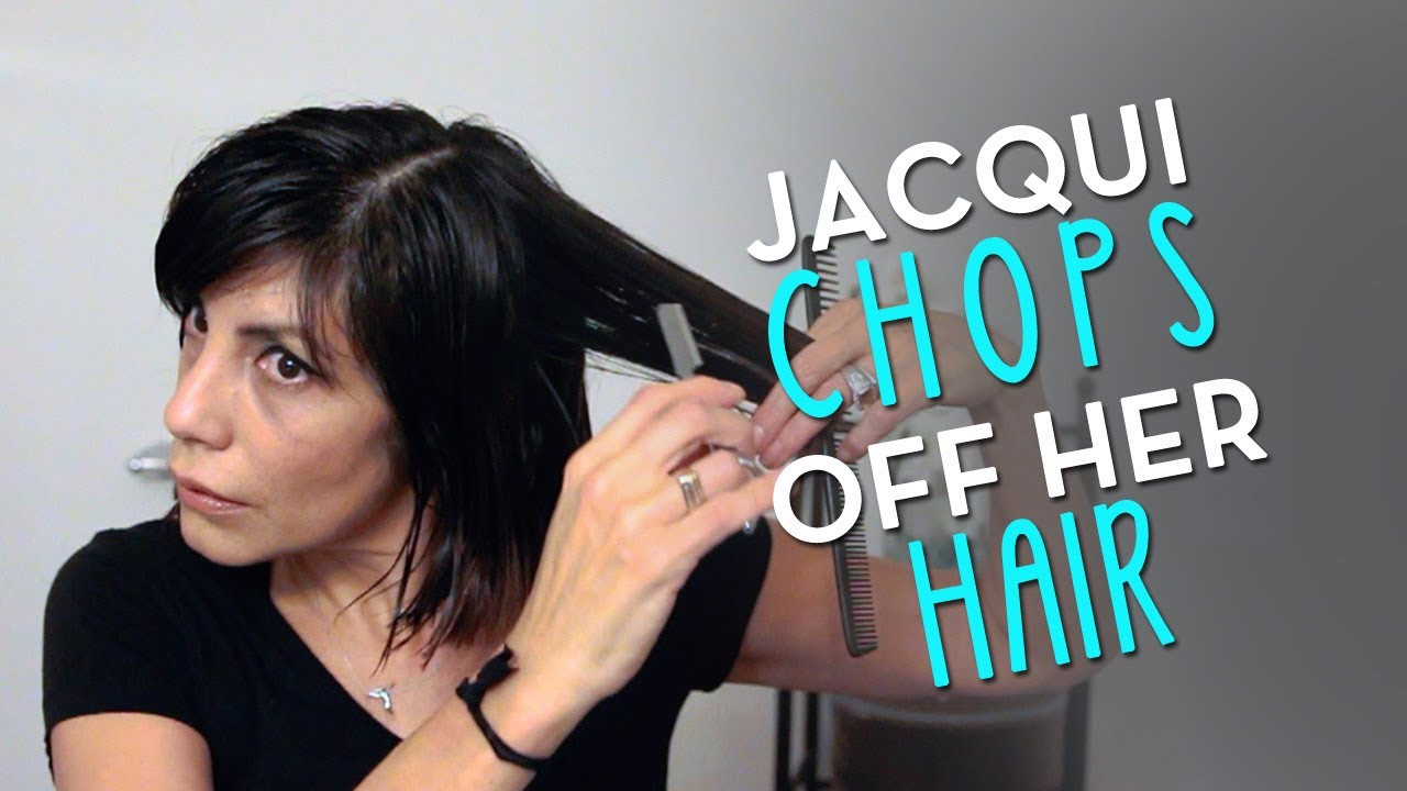 Best ideas about How To Cut Your Own Hair Into A Bob . Save or Pin Choppy Bob 2014 by Jacqui Davis From long to short hair Now.