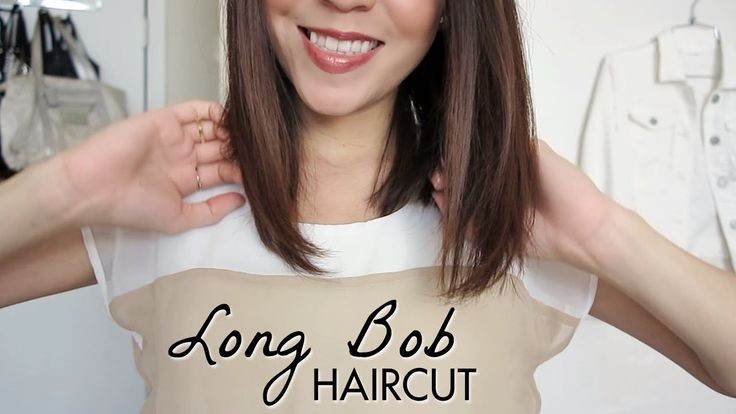 Best ideas about How To Cut Your Own Hair Into A Bob . Save or Pin Long Bob Haircut Tutorial How to Cut Your Own Hair Now.