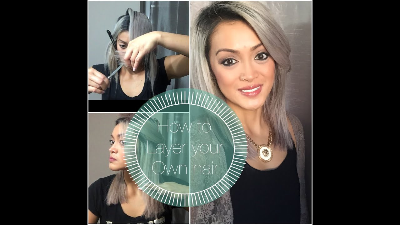 Best ideas about How To Cut Your Own Hair Into A Bob . Save or Pin How To Layer Your Own Hair Now.