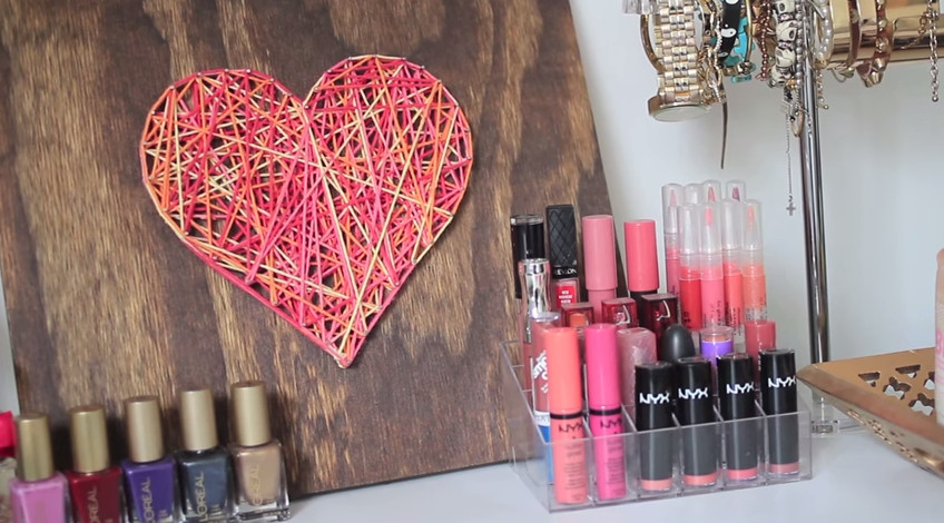 Best ideas about How To Decorate Your Room DIY . Save or Pin 10 Sweet Ways to DIY Decorate Your Room for Valentine s Now.