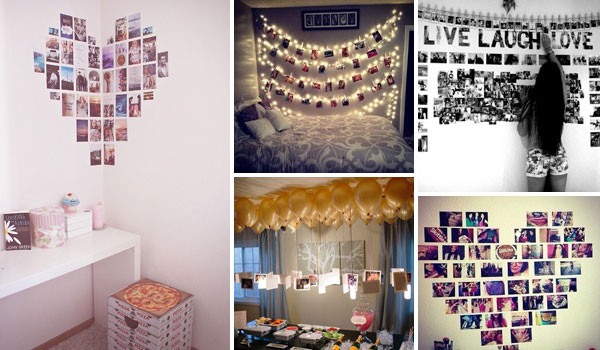 Best ideas about How To Decorate Your Room DIY . Save or Pin Top 24 Simple Ways to Decorate Your Room with s Now.