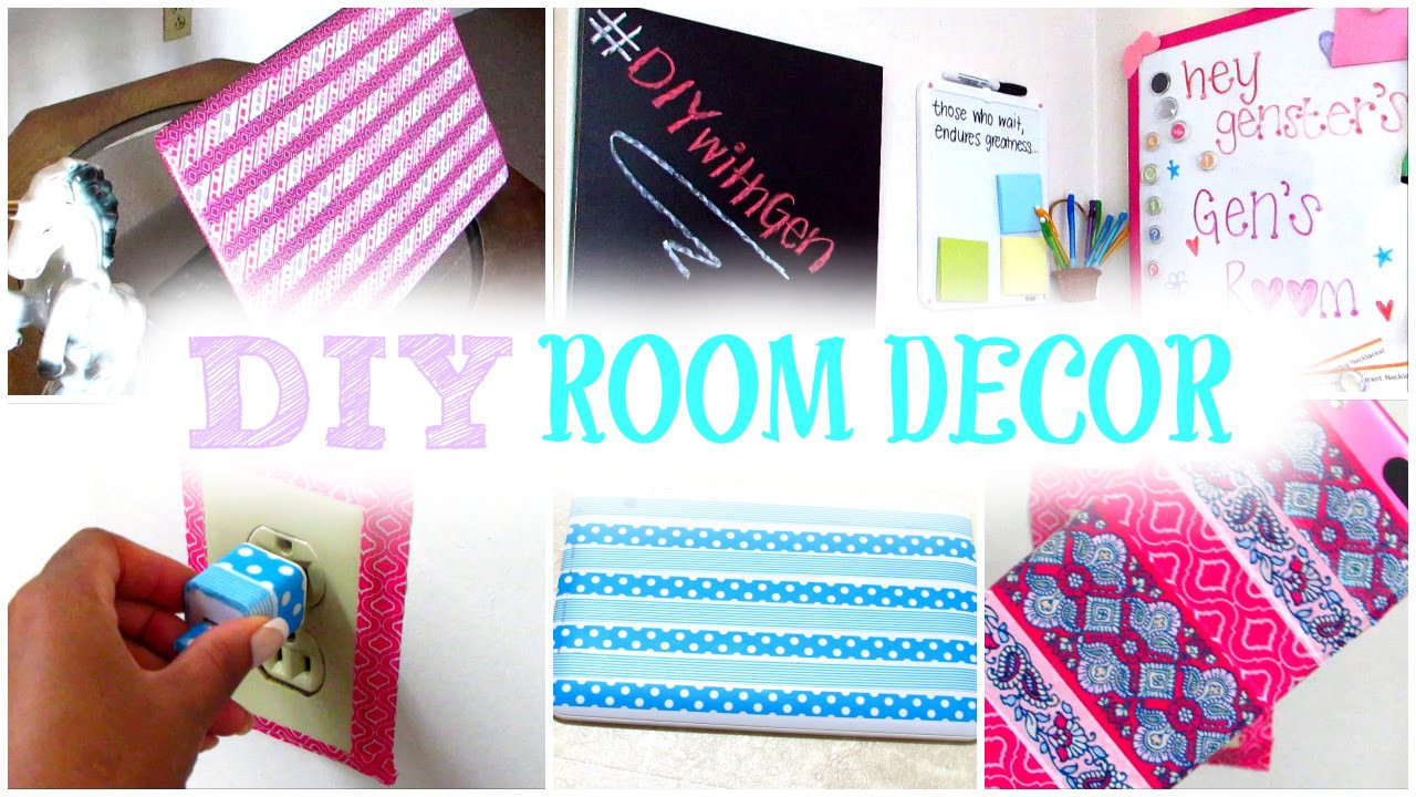Best ideas about How To Decorate Your Room DIY . Save or Pin DIY Room Decor Now.