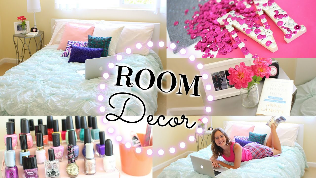 Best ideas about How To Decorate Your Room DIY . Save or Pin Easy DIY Ways to Re Decorate Your Room Now.