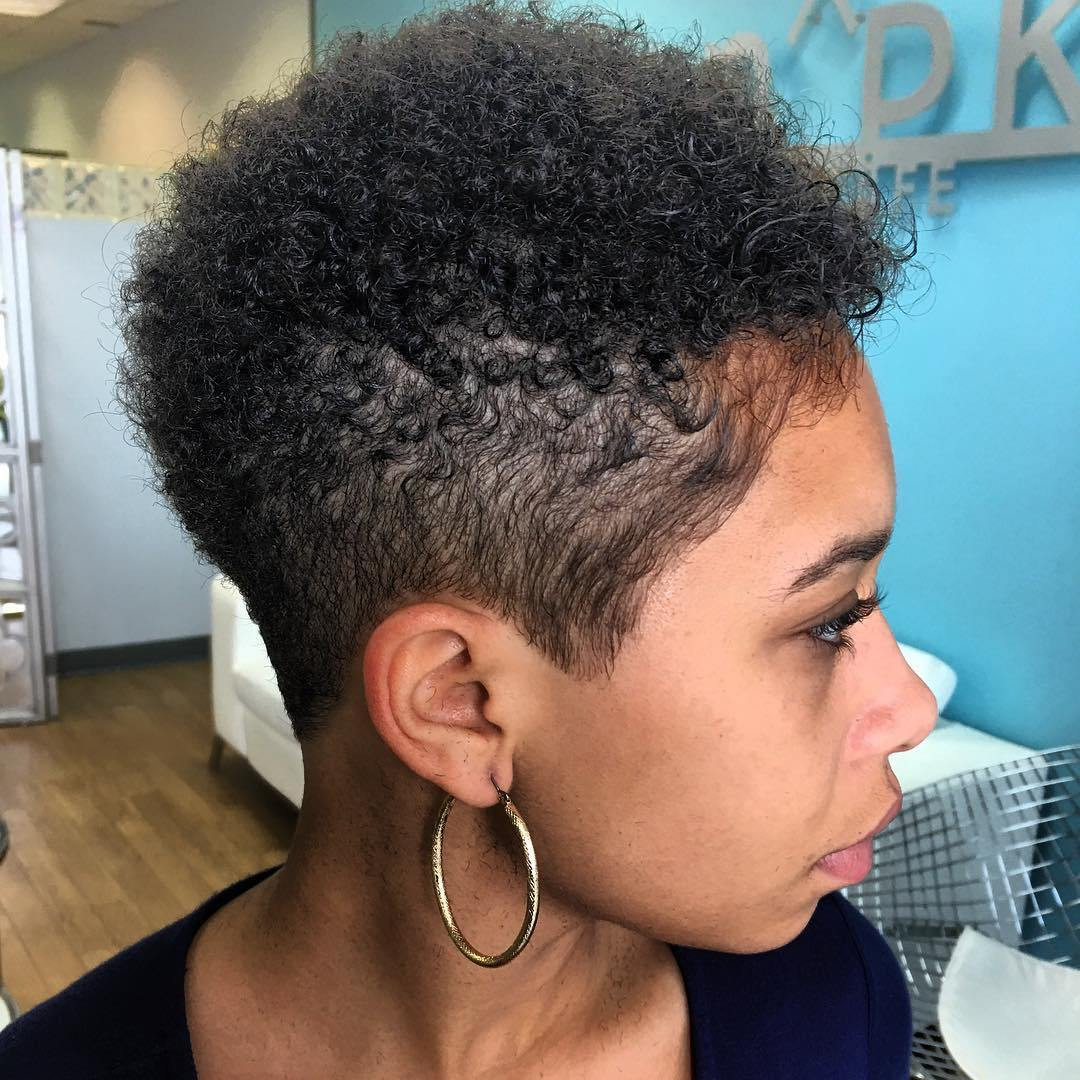 Best ideas about How To Do A Tapered Cut On Natural Hair . Save or Pin 40 Cute Tapered Natural Hairstyles for Afro Hair Now.