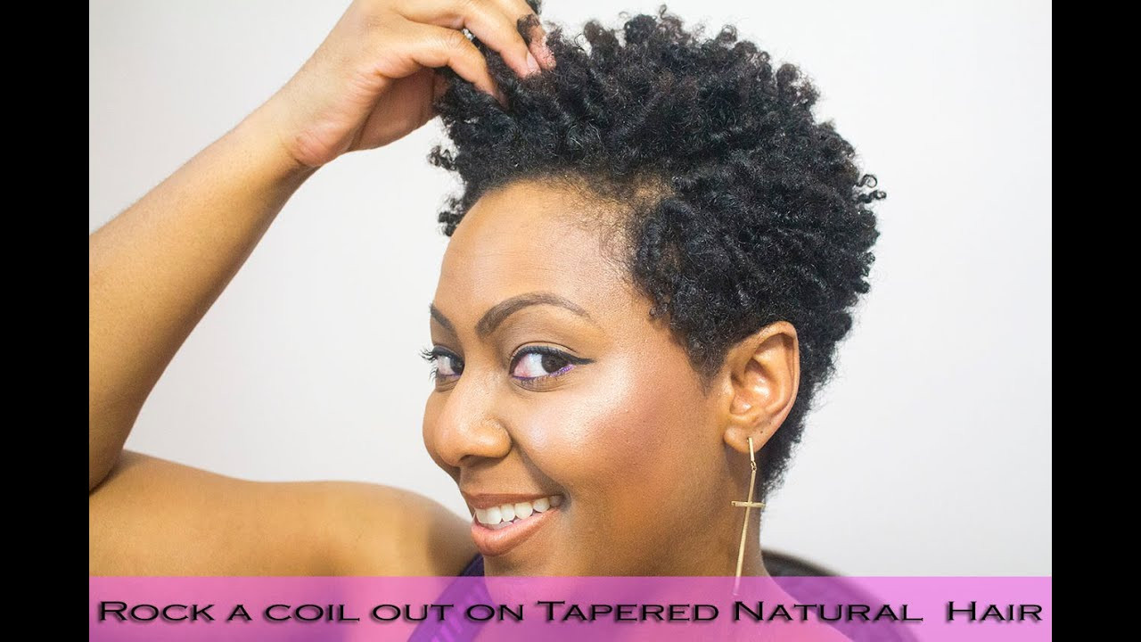 Best ideas about How To Do A Tapered Cut On Natural Hair . Save or Pin How to do Finger Coils on Natural Hair and Rock a Coil out Now.