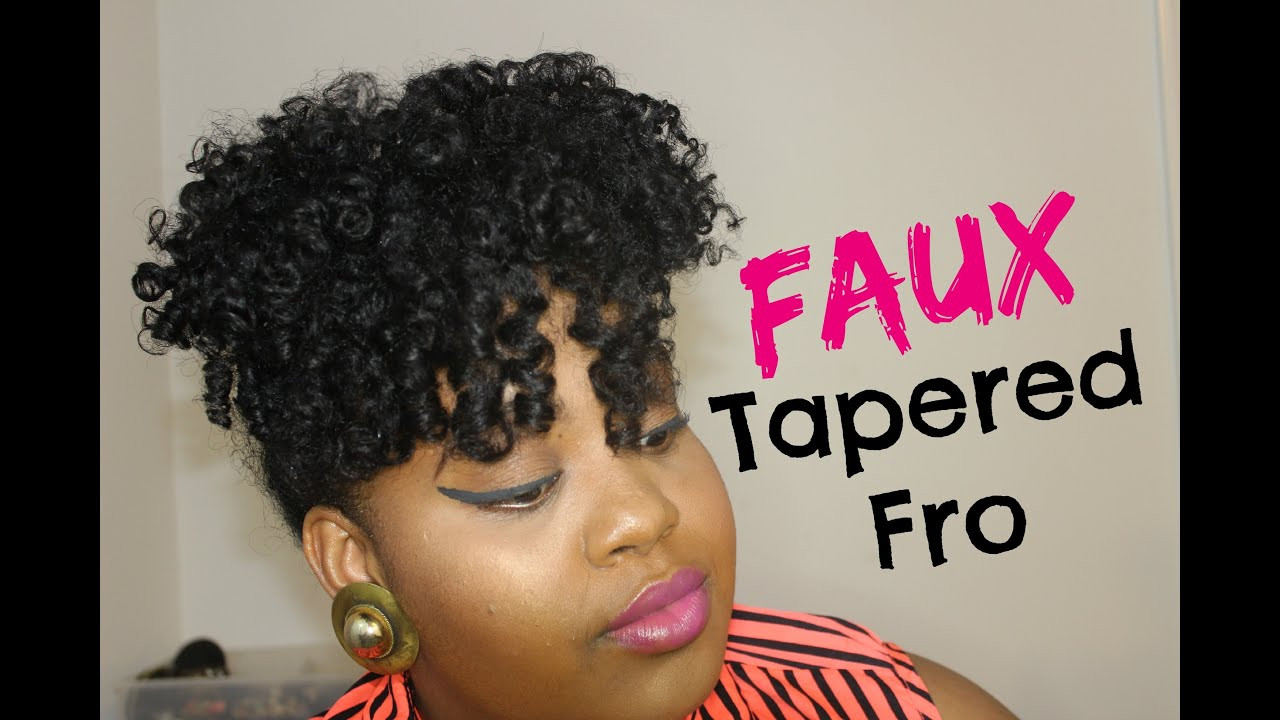 """Best ideas about How To Do A Tapered Cut On Natural Hair . Save or Pin Faux Tapered Cut on Medium Long """"Natural Hair"""" w Original Now."""