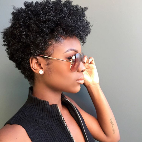 Best ideas about How To Do A Tapered Cut On Natural Hair . Save or Pin InstaFeature Tapered cut on natural hair – dennydaily Now.