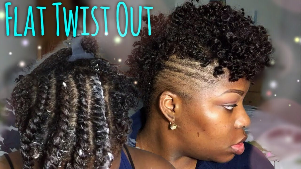 Best ideas about How To Do A Tapered Cut On Natural Hair . Save or Pin Flat Twist Out Natural Hair Now.