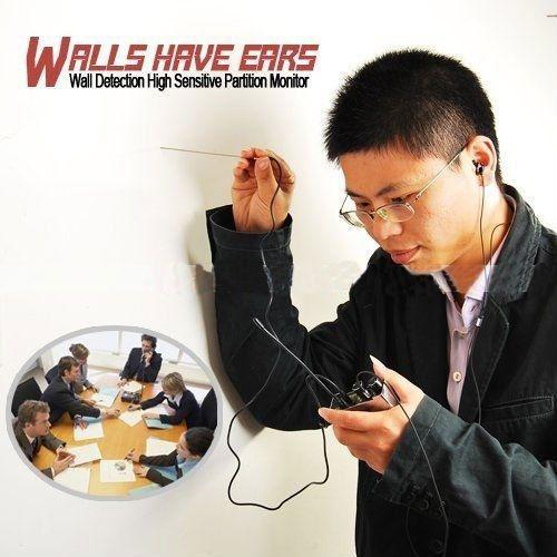Best ideas about How To Listen Through Walls DIY . Save or Pin F999b Super Highest Sensitive Listen Spy Ear Bug Thru Wall Now.
