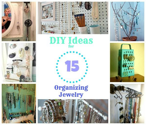 Best ideas about How To Organize Jewelry DIY . Save or Pin 125 best images about DIY Jewelry Organizers on Pinterest Now.