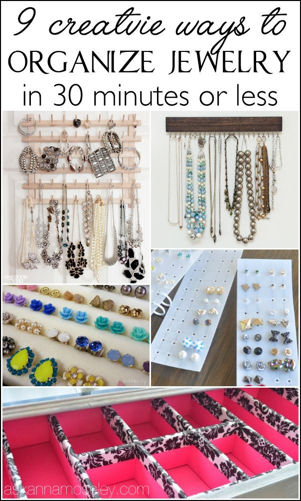 Best ideas about How To Organize Jewelry DIY . Save or Pin 168 best images about organizing bathroom on Pinterest Now.