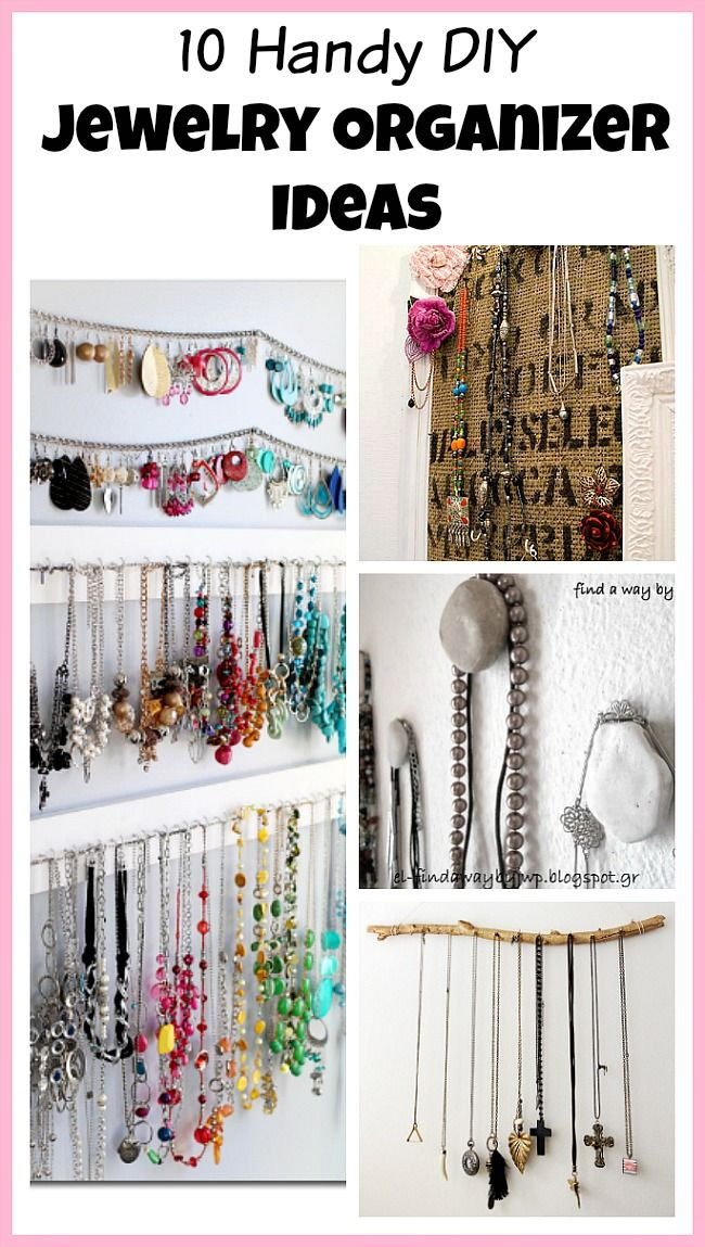 Best ideas about How To Organize Jewelry DIY . Save or Pin 17 Best images about Homemaking Tips & Tricks on Pinterest Now.