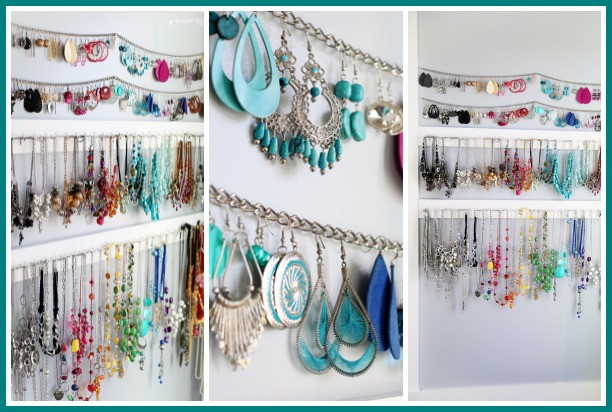 Best ideas about How To Organize Jewelry DIY . Save or Pin Simple Jewelry Organization Sugar Bee Crafts Now.