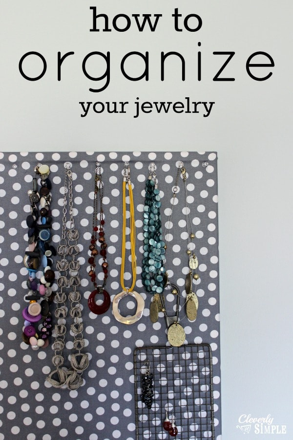 Best ideas about How To Organize Jewelry DIY . Save or Pin How to Organize Your Jewelry For Less Than $10 Simple Now.