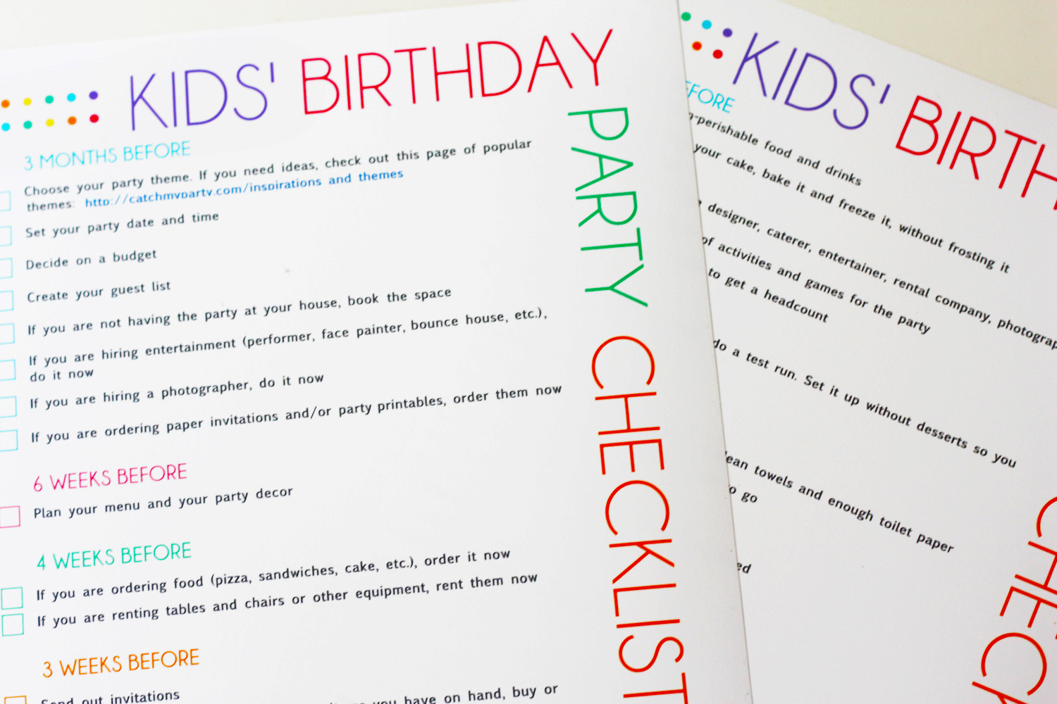 Best ideas about How To Plan A Birthday Party . Save or Pin FREE Printable Kids Party Planning Checklist Now.