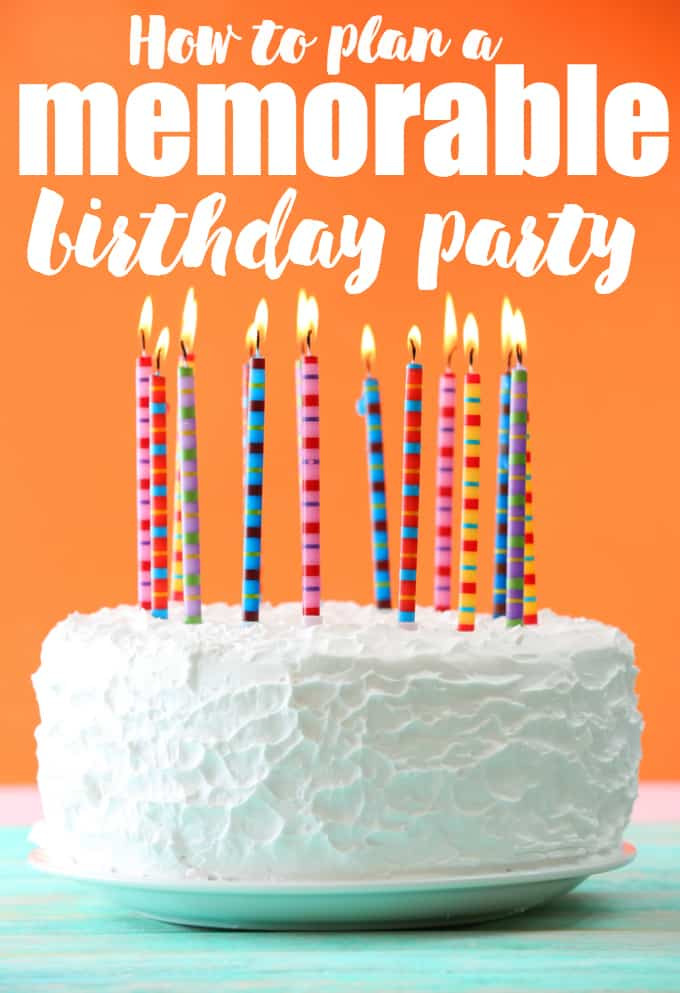 Best ideas about How To Plan A Birthday Party . Save or Pin How to Plan a Memorable Birthday Party Simply Stacie Now.