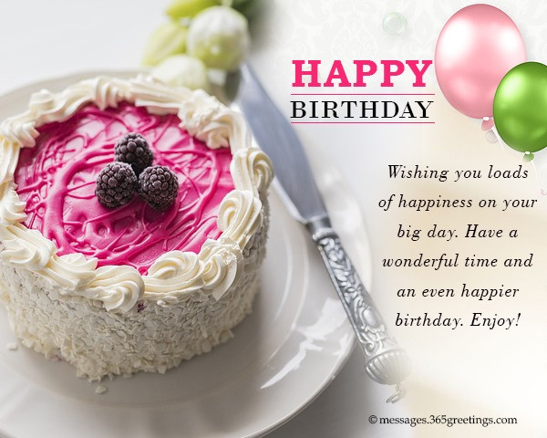 Best ideas about How To Wish Happy Birthday . Save or Pin Happy Birthday Wishes and Messages 365greetings Now.