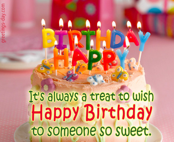 Best ideas about How To Wish Someone Happy Birthday . Save or Pin Happy Birthday to you Free E cards Now.