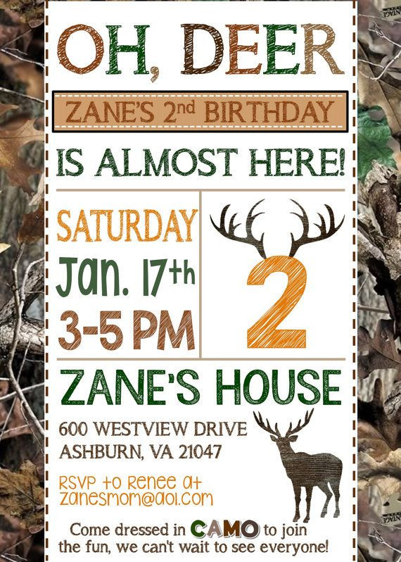 Best ideas about Hunting Birthday Invitations . Save or Pin 25 Best Ideas about Hunting Birthday Parties on Pinterest Now.