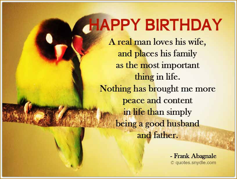 Best ideas about Husband Birthday Quotes . Save or Pin Birthday Quotes for Husband Quotes and Sayings Now.