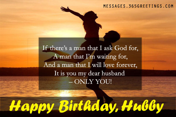Best ideas about Husband Birthday Quotes . Save or Pin Birthday Wishes for Husband 365greetings Now.