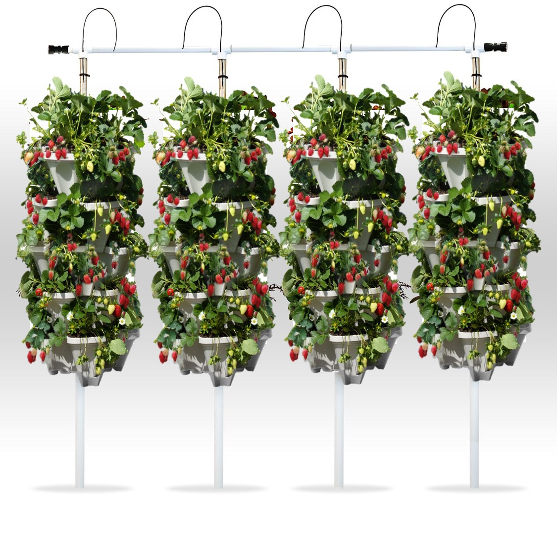 Best ideas about Hydroponic Tower Garden DIY . Save or Pin DIY Vertical Hydroponic 4 Tower Kit Now.