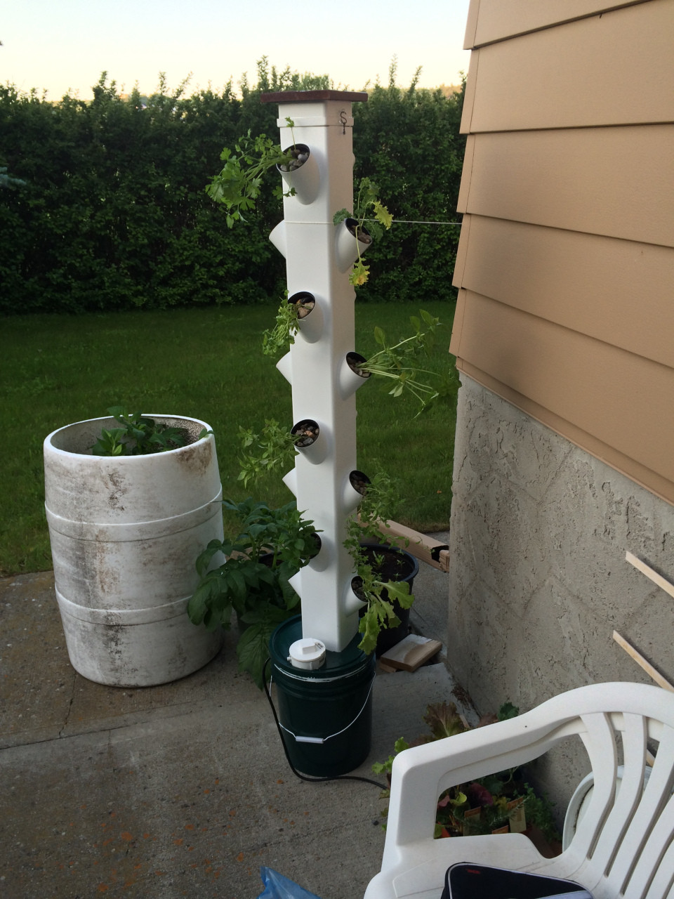 Best ideas about Hydroponic Tower Garden DIY . Save or Pin Hydroponic Tower Garden Part 4 Final Now.